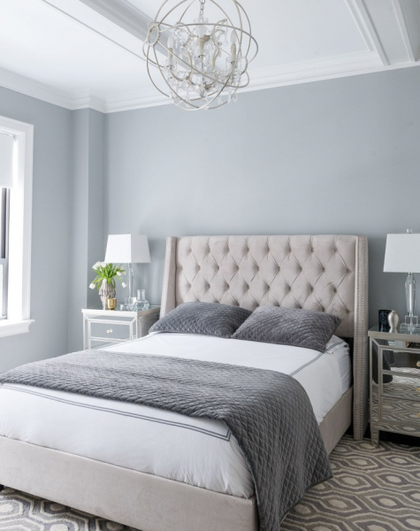 The BEST Benjamin Moore Gray Paint Colors - West Magnolia Charm